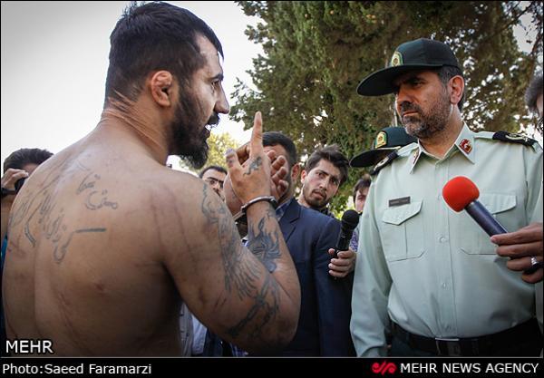 عکس قمه کشی در ایران